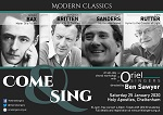 2020 01 Come and Sing Modern Classics thumbnail